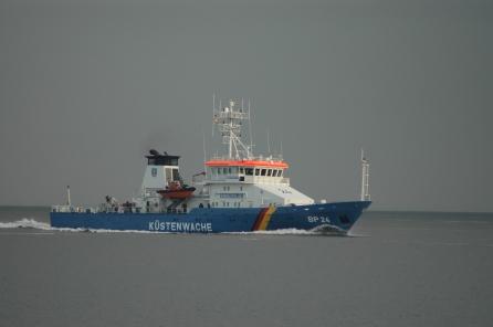 """66m-Patrouillenboot """"Bad Bramstedt"""" der Bundespolizei (BP 24)"""